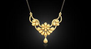 Buy Designer Gold  Mangalsutra Online in India 2019