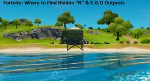 "Fortnite: Where to Find Hidden ""N"" & E.G.O Outposts – norton.com/setup"