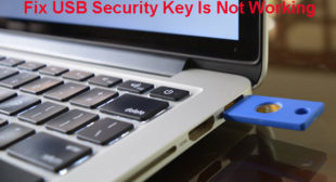 How to Fix USB Security Key not working on Windows 10?
