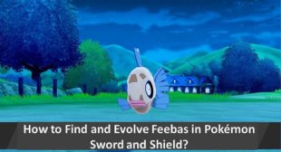 How to Find and Evolve Feebas in Pokémon Sword and Shield