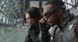 Captain America in Falcon & Winter Soldier TV Show Set Images
