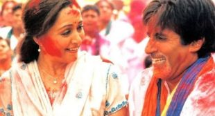 Holi Khele Raghuveera Lyrics In Hindi And English -Amitabh Bachchan