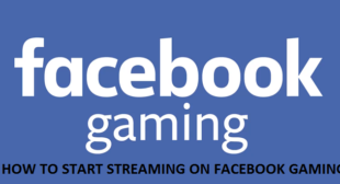 How to Start Streaming On Facebook Gaming – Accounting Support