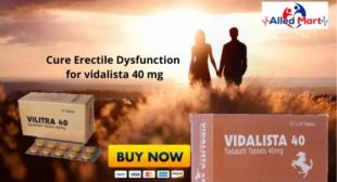 Have longer love moments in bed with Vidalista 40mg tablets