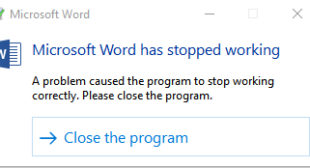 How to fix error when Office word stops working? || office setup