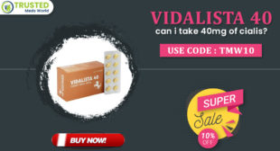 Vidalista 40 (Tadalafil) : Reviews, Side Effects, Price | TrustedMedsWorld