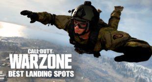 Best Landing Spots on Call of Duty: Warzone