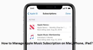 How to Manage Apple Music Subscription on Mac, iPhone, iPad? – Norton Setup