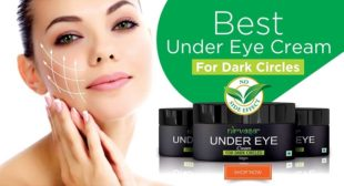 Get Rid Of Nasty Dark Circles With Under Eye Cream