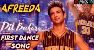 Afreeda Lyrics – Sana Musa | Dil Bechara