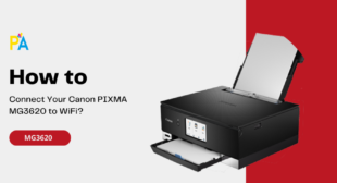 How to Connect Canon Pixma MG3620 to WiFi