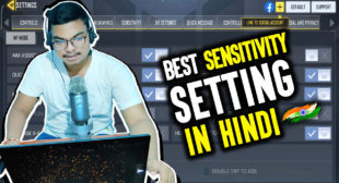 Best Sensitivity Setting For COD Mobile | Call Of Duty Mobile | Hindi Explained | RHINO Gaming