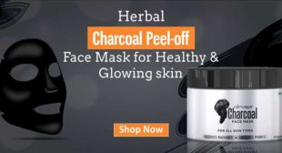 Lightens Dark Spots With Charcoal Peel-Off Face Mask