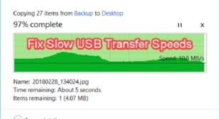 How To Fix USB 3.0 Transfer Speed Slow – Noble Antivirus