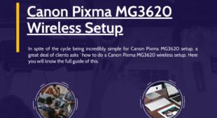 How to Setup Your Canon Pixma MG3620 Printers