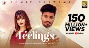Feelings Song Lyrics In Hindi | Sumit Goswami ft.Arti Sharma | Latest haryanvi Song 2020