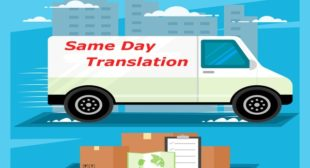 Same Day Translation Services | 24 Hour Translation Services