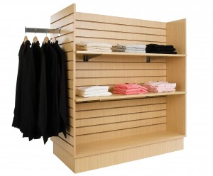High quality Slatwall display fixture for retail store