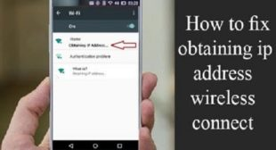 Wi-Fi: Fix the Obtaining IP Address Error – WebrootSafe