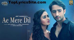Ae Mere Dil Lyrics – Abhay Jodhpurkar – TopLyricsSite.com