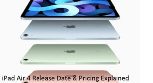 iPad Air 4 Release Date & Pricing Explained