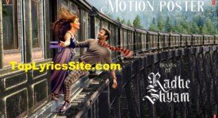 Beats Of Radhe Shyam Lyrics – Prabhas, Pooja Hegde – TopLyricsSite.com