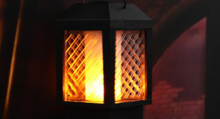 Best Solar Flame Lamp for Outdoor Garden with Aesthetical Appeal