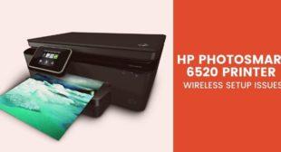 HP Photosmart 6520 Printer Wireless Setup Issues