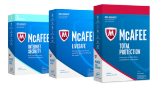 login to McAfee account online download and install .