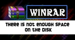 WinRAR Not Enough Memory Error- How to Fix It