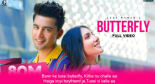 बटरफ्लाइ Butterfly Lyrics in Hindi – Jass Manak
