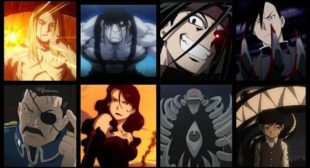 Fullmetal Alchemist: The Death of Every Homunculi