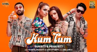 HUM TUM SONG LYRICS IN HINDI | Sukriti Kakar & Prakriti Kakar |
