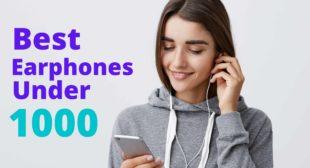 Best Earphones Under 1000 in India – November 2020 (Features & Rev ..