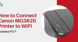 Connect Canon MG3620 Printer to WiFi with Enabled PC