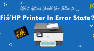 Follow to Fix HP Printer In Error State Windows 10