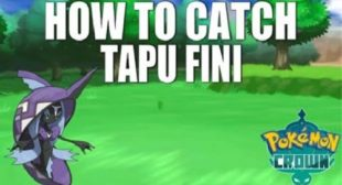 Where to Find and Catch Tapu Fini in Pokemon Crown Tundra