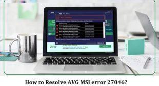 How to Resolve AVG MSI error 27046?