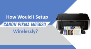 Guidelines to Setup Your Canon PIXMA MG3620 Wirelessly