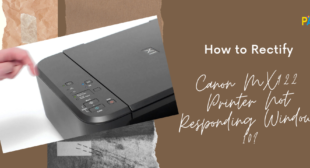 Rectify Canon MX922 Printer Not Responding Windows 10