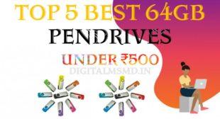 Top 5 Best 64 GB Pendrive Under ₹500 In December 2020 In India | Best 64 GB Pendrive Price | Digital Msmd