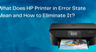 How to Eliminate HP Printer in Error State issue?