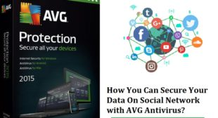 How You Can Secure Your Data On Social Network with Avg.com/retail?