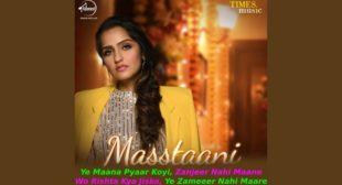 मस्स्तानी Masstaani Asees Kaur Lyrics Hindi