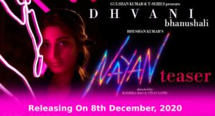 नयन Nayan Song Lyrics in Hindi – Jubin Nautiyal | Dhvani Bhanushali