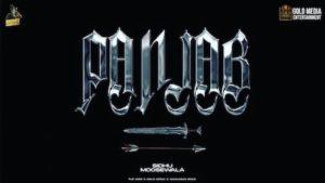 PANJAB – Sidhu Moose Wala