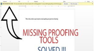 How to Fix Missing Proofing Tools Error in MS Word on Windows 10? – mcafee.com/activate