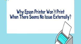 Why Epson Printer Won't Print Black Color?
