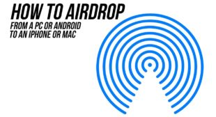 How to use AirDrop to share something from iPhone to Mac – A7Setup