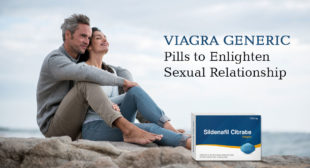 Generic Sildenafil Citrate Helps Men Be Sexually Potent